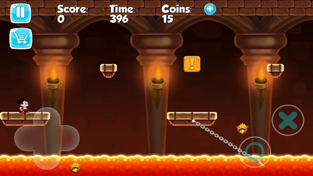 Mickey Jungle Mouse Run apk screenshot
