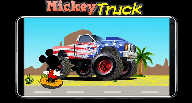 Mickey Drive Truck Minnie RoadSter poster