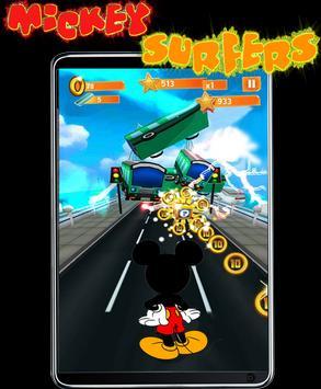Subway Mickey Surfer minnie apk screenshot