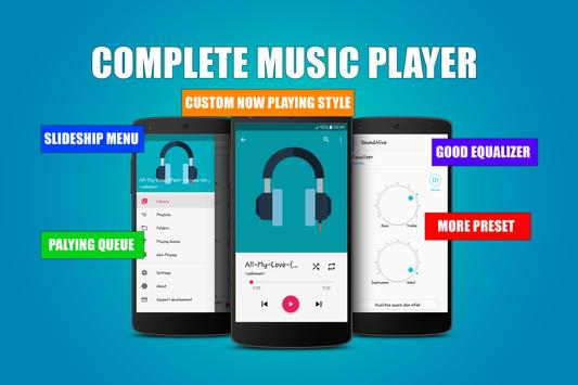 Booster and Equalizer Music Player apk screenshot