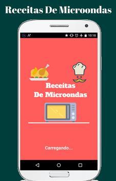 Receitas de Microondas poster