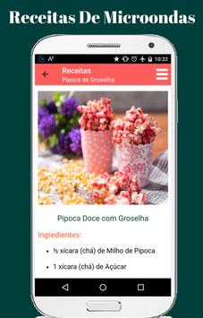 Receitas de Microondas apk screenshot