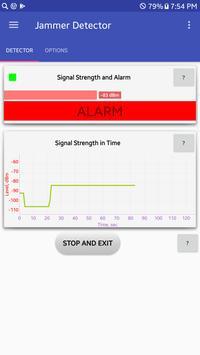 Jammer Detector screenshot 1