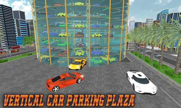 Vertical Car Parking poster