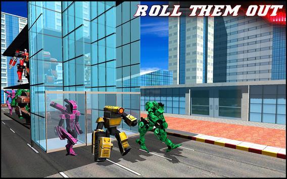 Multi Storey Robot Transporter apk screenshot