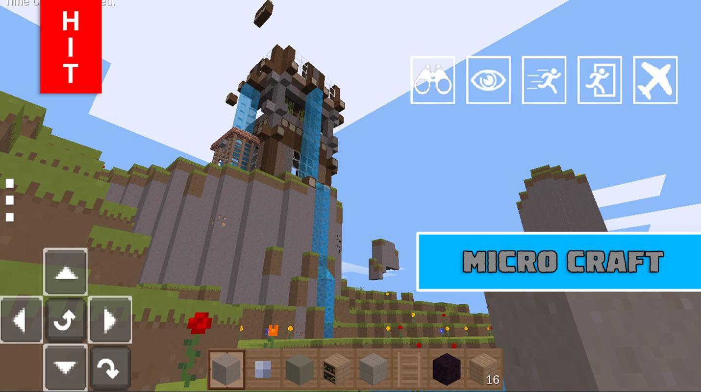 Micro Craft Exploration Pocket Edition For Android APK Download - Micro cubes map para minecraft 1 8 descargar