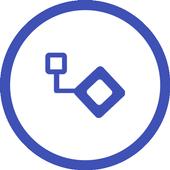 Diagram to PDF icon
