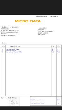 Purchase orders screenshot 2