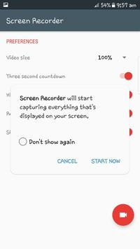 Screen Recorder-Full Rec screenshot 1