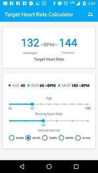Target Heart Rate Calculator poster