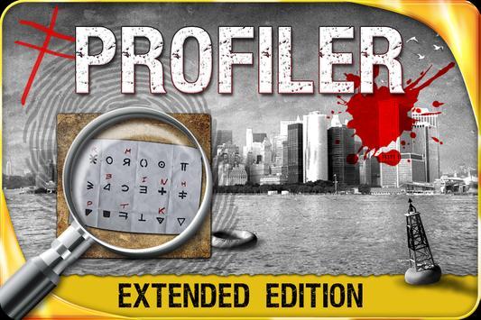 Profiler - Hidden object poster