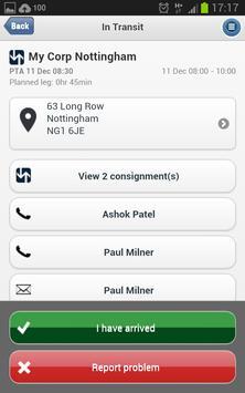 Microlise SmartPOD apk screenshot