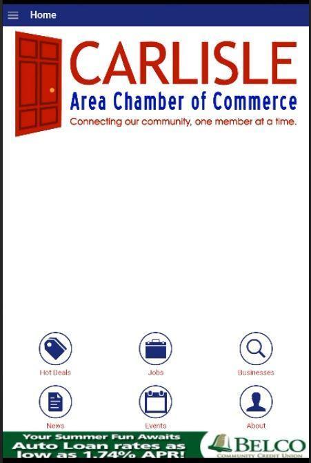 Carlisle Chamber poster