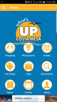 Costa Mesa Chamber of Commerce poster