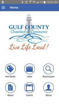 Gulf County Chamber poster