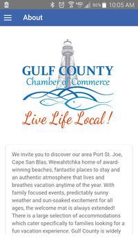 Gulf County Chamber screenshot 2