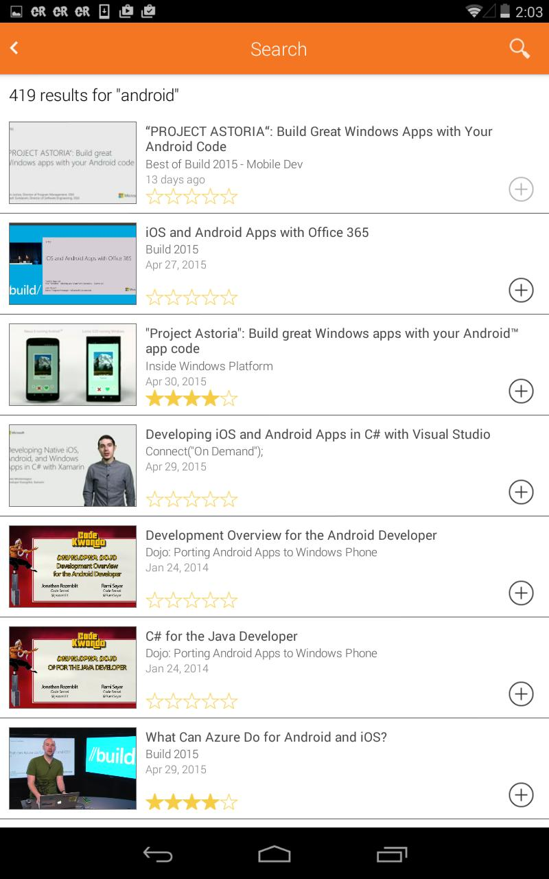 Microsoft Channel 9 for Android - APK Download