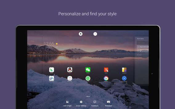 Schermata apk Microsoft Launcher