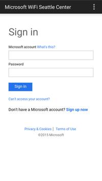 Microsoft Wi-Fi apk screenshot