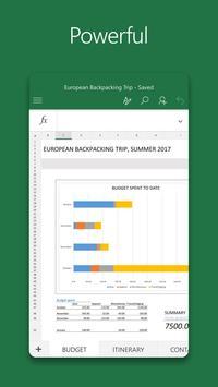Microsoft Excel 海报