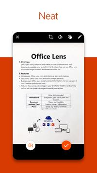 Microsoft Office Lens - PDF Scanner screenshot 1
