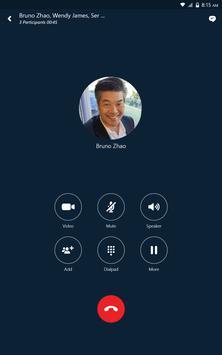 Skype for Business スクリーンショット 10