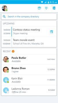 Skype for Business スクリーンショット 3