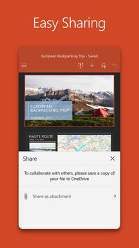 Microsoft PowerPoint apk screenshot