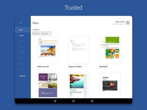 Microsoft Word apk screenshot