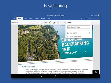 Schermata apk Microsoft Word