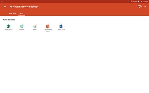 Microsoft Remote Desktop スクリーンショット 8