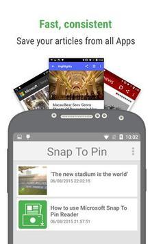 Snap To Pin poster