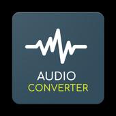 Audio converter with Mp3 converter icon
