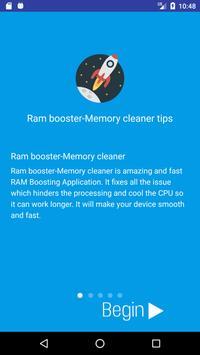 RAM Booster-Super Cleaner 2018 screenshot 1