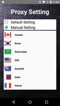 VPN proxy – Free Security VPN Server screenshot 4