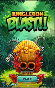 Junglebox Blast Saga - Crushing Puzzle Game poster
