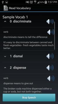 Vocabulary List Creator screenshot 1