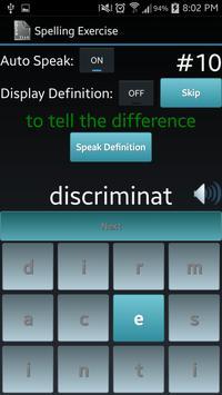 Vocabulary List Creator screenshot 2