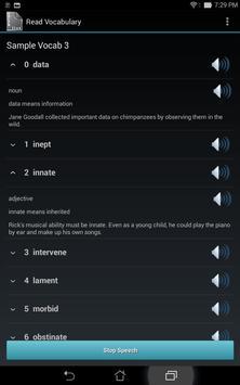 Vocabulary List Creator screenshot 9