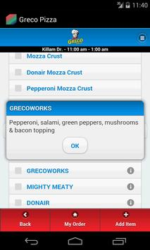 Greco Pizza apk screenshot
