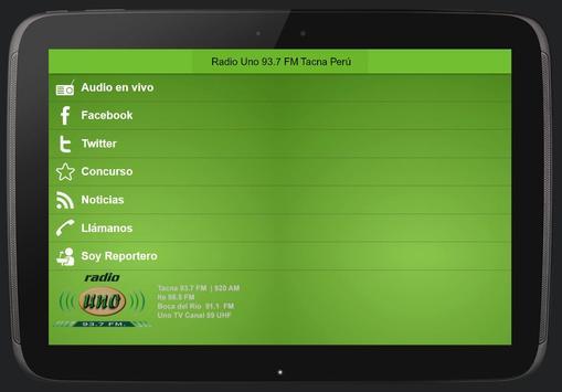 Radio Uno screenshot 1