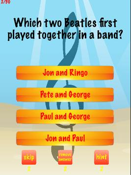 The Beatles Trivia apk screenshot