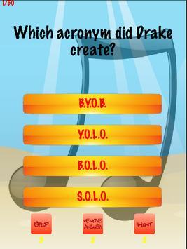Drake Trivia poster
