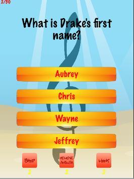 Drake Trivia screenshot 1