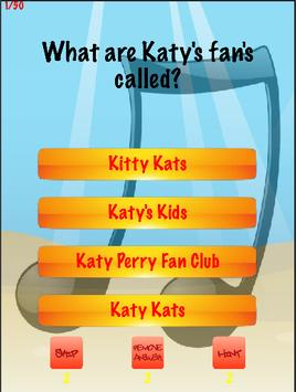 Katy Perry Trivia Quiz poster