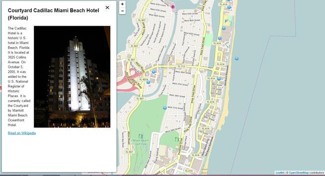 Miami Story Map apk screenshot