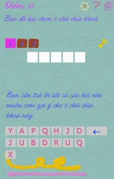 Ô chữ khám phá apk screenshot