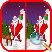 Find Differences Christmas : Spot the Difference icon
