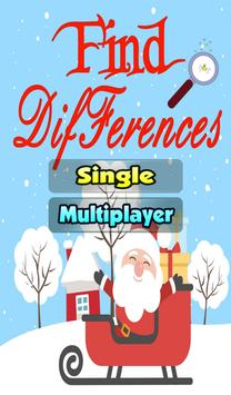 Find Differences Christmas : Spot the Difference poster