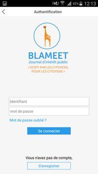 Blameet apk screenshot